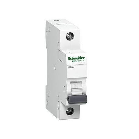 Wyłącznik nadprądowy Schneider K60N-C6 A9K02106 1P 6A AC