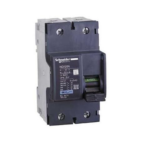 Wyłącznik nadprądowy Schneider NG125N-C63-2 18628 2P 63A AC