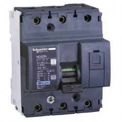 Wyłącznik nadprądowy Schneider NG125N-C10-3 18632 3P 10A AC