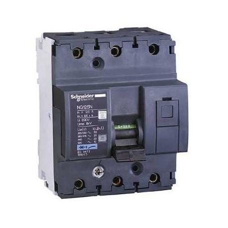 Wyłącznik nadprądowy Schneider NG125N-C63-3 18639 3P 63A AC