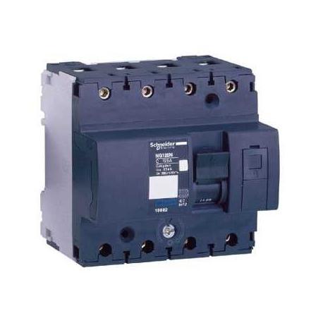 Wyłącznik nadprądowy Schneider NG125N-C10-4 18649 4P 10A AC
