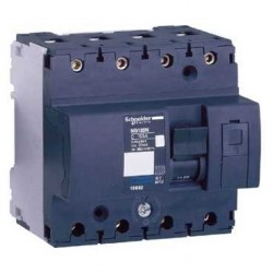 Wyłącznik nadprądowy Schneider NG125N-C63-4 18656 4P 63A AC
