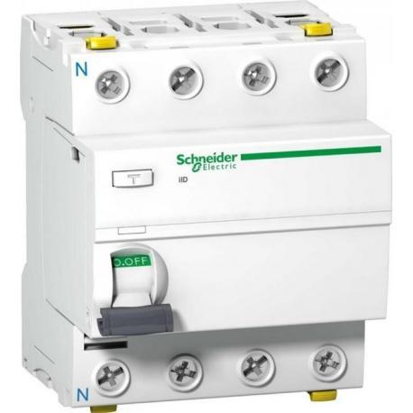 Wyłącznik różnicowoprądowy Schneider iID-AC300-63-4 A9Z14463 4P 63A 300mA AC