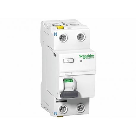 Wyłącznik różnicowoprądowy Schneider iID-A100-63-2 A9Z22263 2P 63A 100mA AC