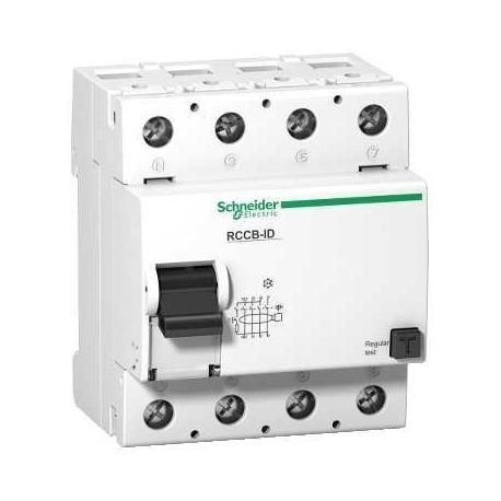 Wyłącznik różnicowoprądowy Schneider ID125A-AC300-4 16907 4P 125A 300mA AC
