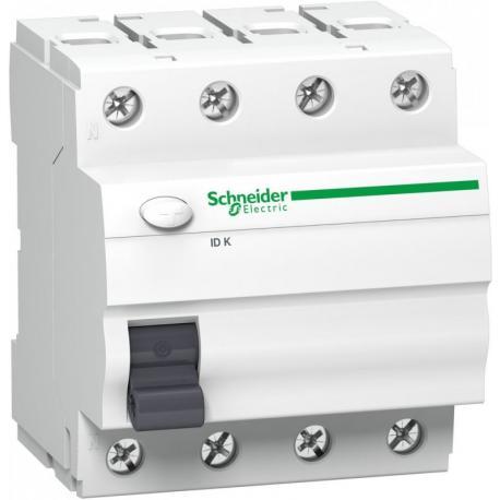Wyłącznik różnicowoprądowy Schneider IDK-A25-30-4 A9Z01425 4P 25A 30mA AC