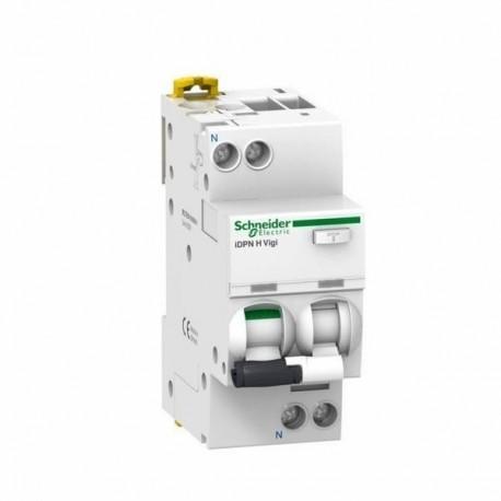 Wyłącznik nadmiarowoprądowy Schneider iDPNNVigi6000-AC300-C10-1N A9D41610 10 10A 300mA AC