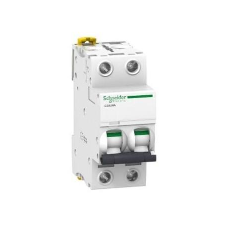 Wyłącznik silnikowy Schneider iC60L-MA6,3-2 A9F90276 2P 6,3A AC