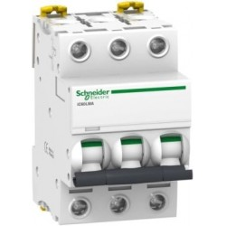Wyłącznik silnikowy Schneider iC60L-MA4-3 A9F90304 3P 4A AC