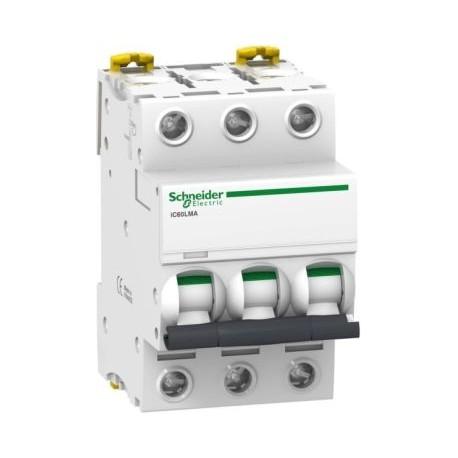 Wyłącznik silnikowy Schneider iC60L-MA2,5-3 A9F90373 3P 2,5A AC