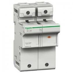 Podstawa bezpiecznikowa Schneider SBI--14x51-1P+N MGN15709 1P + N AC