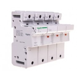 Podstawa bezpiecznikowa Schneider SBI-14x51-3P+N MGN15712 3P + N AC