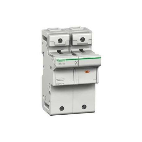 Podstawa bezpiecznikowa Schneider SBI-22x58-1P+N MGN15715 1P +N AC