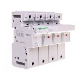 Podstawa bezpiecznikowa Schneider SBI-22x58-3P+N MGN15718 3P + N AC