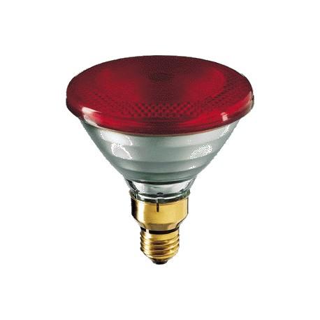 Promiennik podczerwieni PAR38 Infrared E27 150 W czerwona