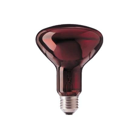 Promiennik podczerwieni IR95 Infrared E27 100 W czerwona