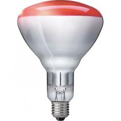 Promiennik podczerwieni BR125 IR E27 150 W czerwona