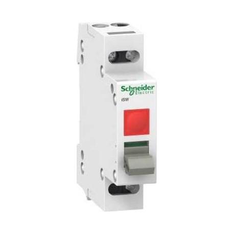Rozłącznik modułowy z lampką sygnalizacyjną Schneider iSWlamp-20 A9S61120 1P 20A