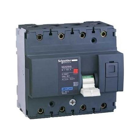 Rozłącznik modułowy Schneider NG125NA-100A 18895 3P + N 100A AC