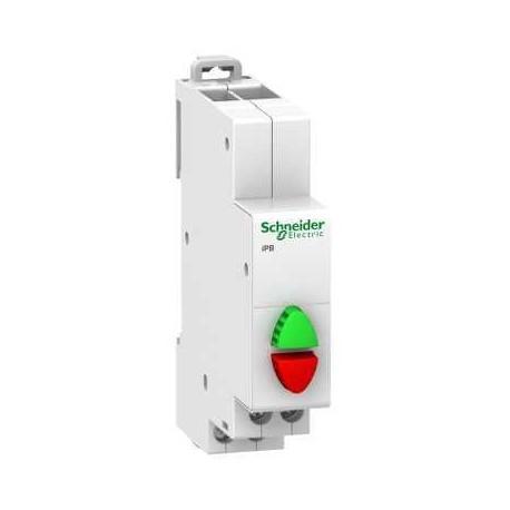 Przycisk modułowy Schneider iPB-podw-NO/NC A9E18034 20A AC