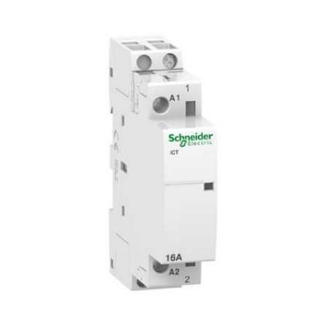 Stycznik modułowy Schneider iCT50-16/6-230/240-1NO A9C22711 1P 16A AC