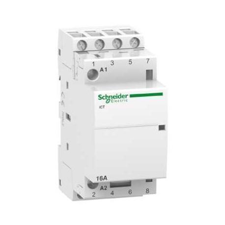 Stycznik modułowy Schneider iCT50-25/8,5-220/240-4NO A9C20834 4P 25A AC