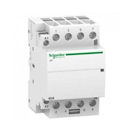 Stycznik modułowy Schneider iCT50-40/15-220/240-4NO A9C20844 4P 40A AC
