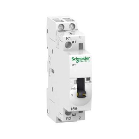 Stycznik modułowy Schneider iCT50r-25/8,5-230/240-2NO A9C21732 2P 25A AC