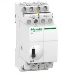 Przekaźnik impulsowy Schneider iTL-16-230...240/110-4 A9C30814 4P 16A