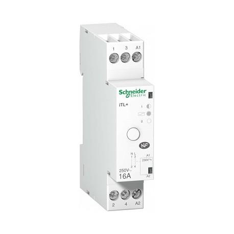 Przekaźnik impulsowy Schneider iTL+-16 A9C15032 1P + N 16A