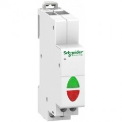 Lampka modułowa podwójna biała/biała Schneider iIL 110/230V AC A9E18328