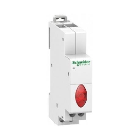 Lampka modułowa 3-fazowa czerwona Schneider iIL 230/400V AC A9E18327