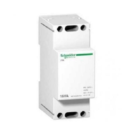 Transformator dzwonkowy Schneider iTR-dzw-16/8-12 A9A15212 16VA 8-12V AC 230 V AC