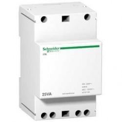 Transformator dzwonkowy Schneider iTR-dzw-25/12-24 A9A15215 25VA 8-12V AC 230 V AC