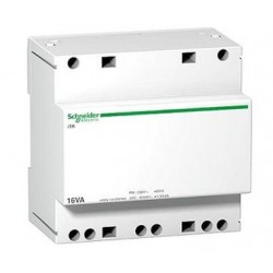 Transformator bezpieczeństwa Schneider iTR-bez-25/12-24 A9A15219 25VA 12-24V AC 230 V AC