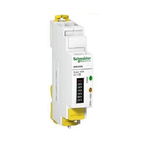 Licznik energi elektrycznej jednofazowy Schneider iEM2010 A9MEM2100 40A 230V AC
