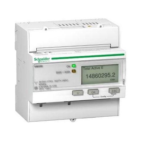 Licznik energi elektrycznej trójfazowy Schneider iEM3100 A9MEM3100 63A