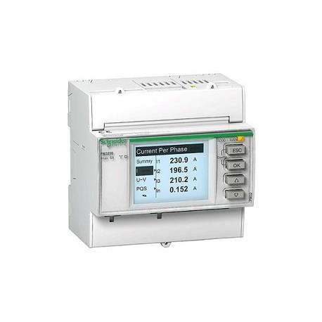 Miernik parametrów sieci Schneider PM3200 METSEPM3200 1/5A 100/480V AC 100/300V DC