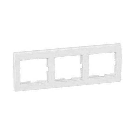 Ramka 3-krotna pozioma Schneider Anya AYA5800521 biała