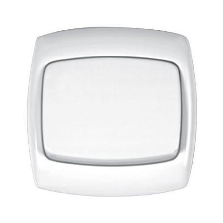 Łącznik 1-biegunowy Schneider Bingo WPT1B01 biały