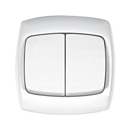 Łącznik świecznikowy Schneider Bingo WPT2B01 biały