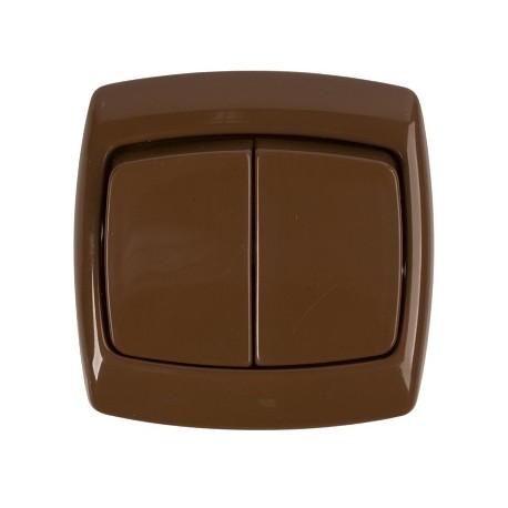 Łącznik świecznikowy Schneider Bingo WPT2B06 brązowy