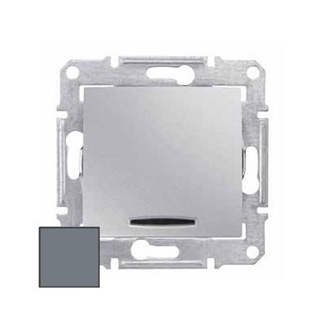 Łącznik krzyżowy z podśw. Schneider Sedna SDN0501160 aluminium