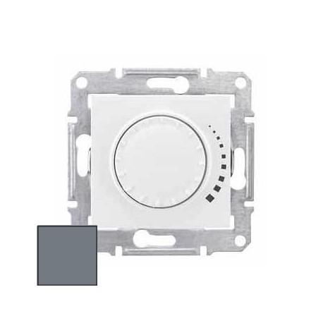Ściemniacz przycisk-obr. Schneider Sedna RC 25-325VA SDN2200760 aluminium