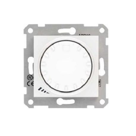 Ściemniacz przyciskowo-obrotowy Schneider Sedna RL/RC SDN2201121 biały