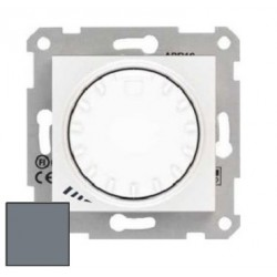 Ściemniacz przyciskowo-obrotowy Schneider Sedna RL/RC SDN2201160 aluminium