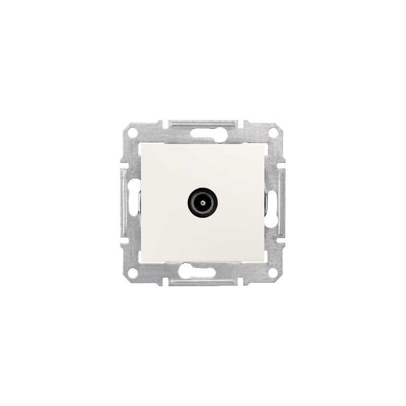 Gniazdo TV końcowe Schneider Sedna SDN3201623 kremowy