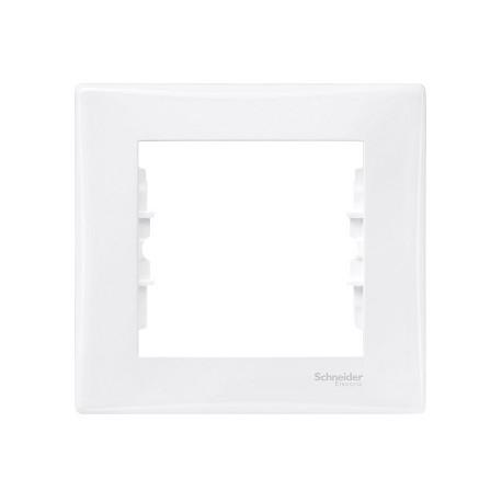 Ramka 1-krotna pozioma Schneider Sedna SDN5800121 biały