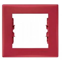 Ramka 1-krotna pozioma Schneider Sedna SDN5800141 czerwony