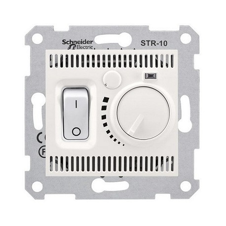 Regulator temperatury Schneider Sedna SDN6000123 kremowy